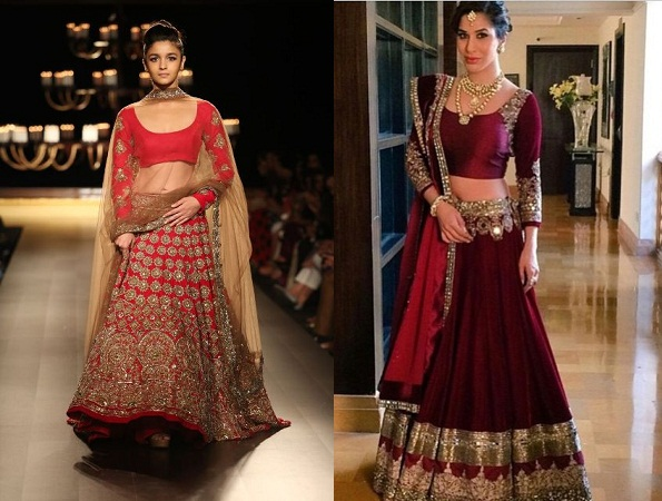 Full Length Sleeves Lehenga
