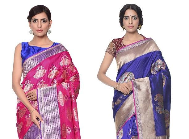 Banarasi Sarees With Motifs