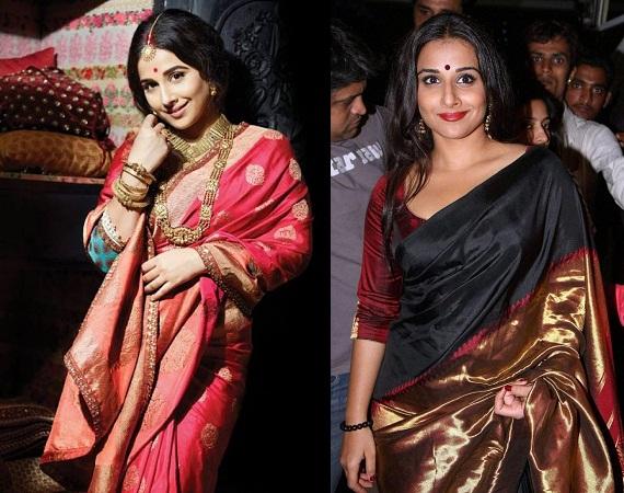 Bollywood Celebs In Banarasi Saree
