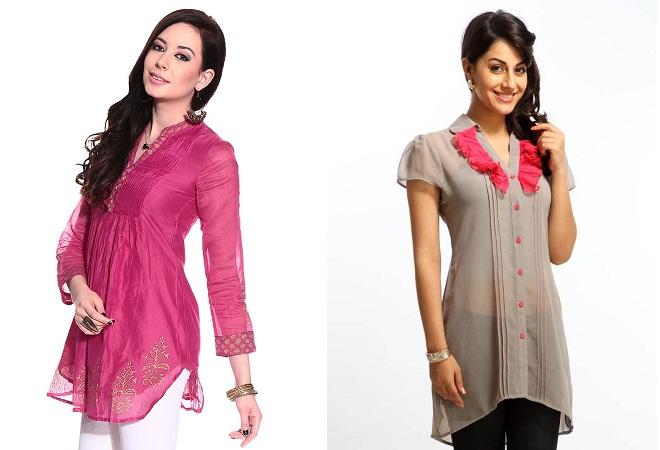 Fashionable Online Short Kurti