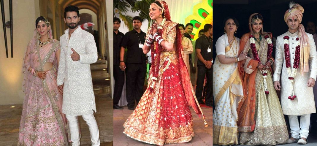 Lehengas In Bollywood Marriages