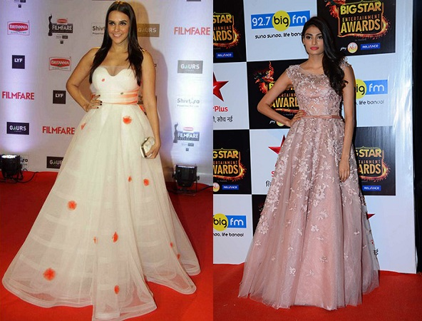 Bollywood Actress In Gowns