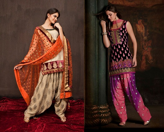 Customized Punjabi Salwar Suits
