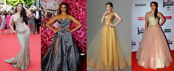 Latest Party Gown Design