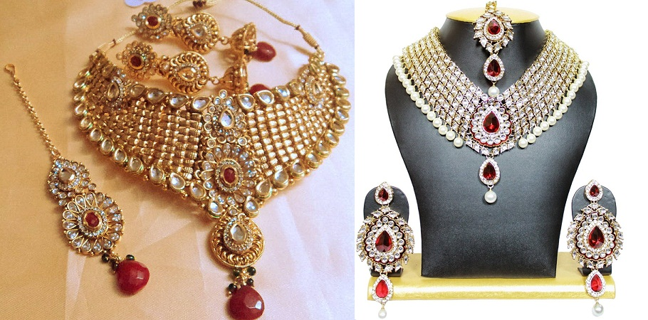 Unique Designer Kundan Jewellery