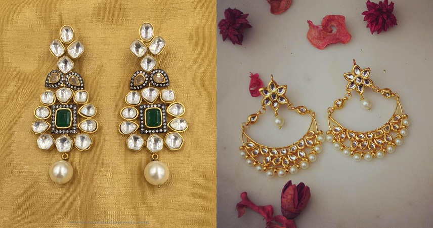 Beautiful Kundan Earrings
