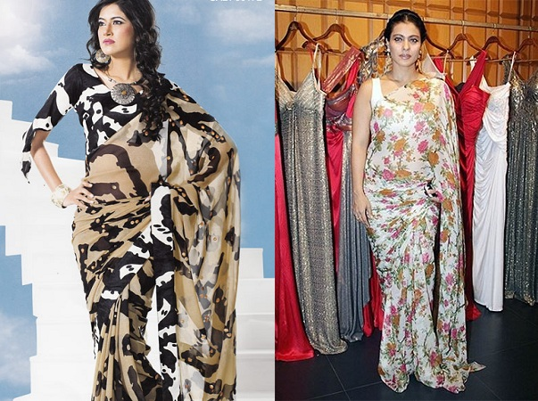 Lightweight Printed Sarees Pattern