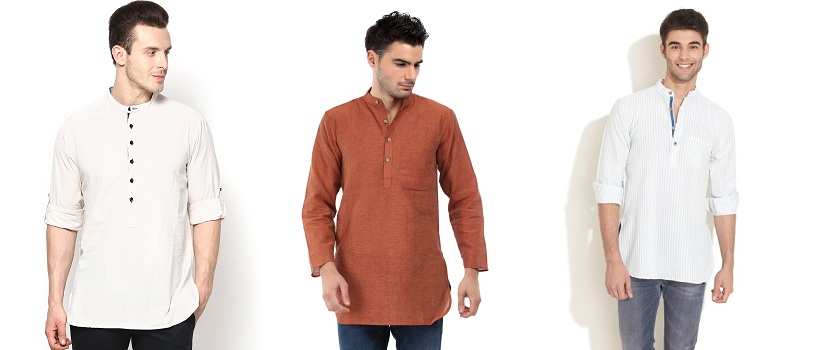 short-kurtas-for-men