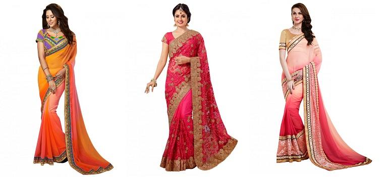 stylish-navel-sarees