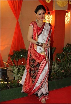 Assamese Style Saree