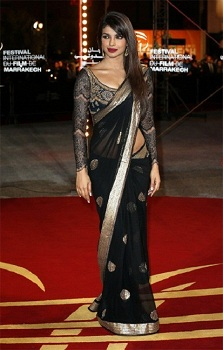 Elbow Drape Saree