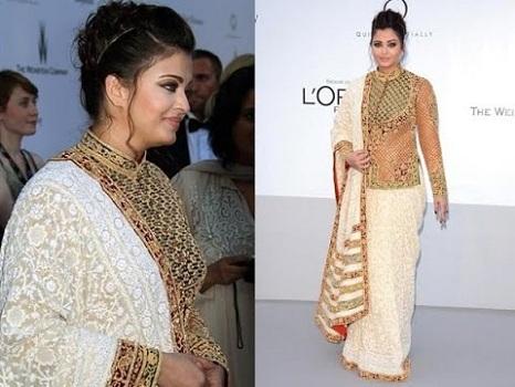 Side Style Saree