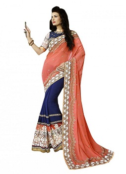 The Diagonal Drape Saree