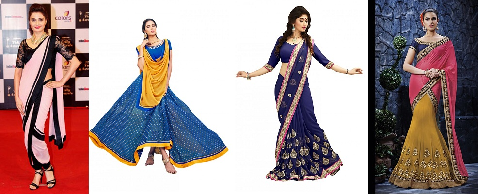 different-saree-drape-style