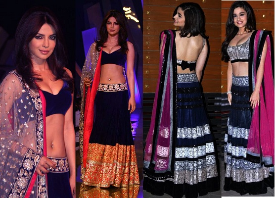 strapless blouses for lehengas