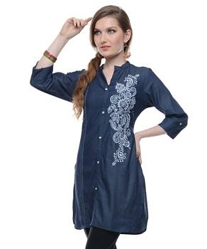Shirt-styled-kurti
