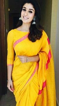 boat-neck-blouse-on-silk-saree