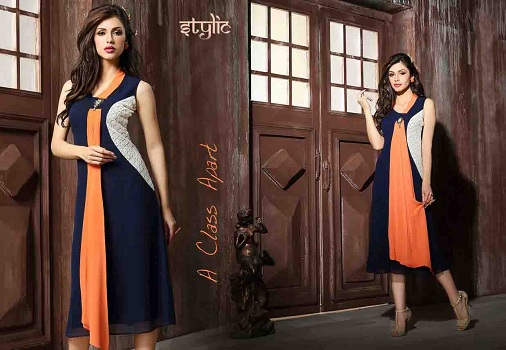 Gown Styled Kurti
