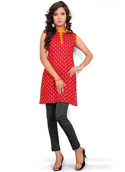 Long-Kurti-With-Jeans-for-Girls