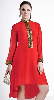closed-neckline-in-kurtis