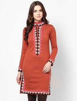 high-neckline-kurti