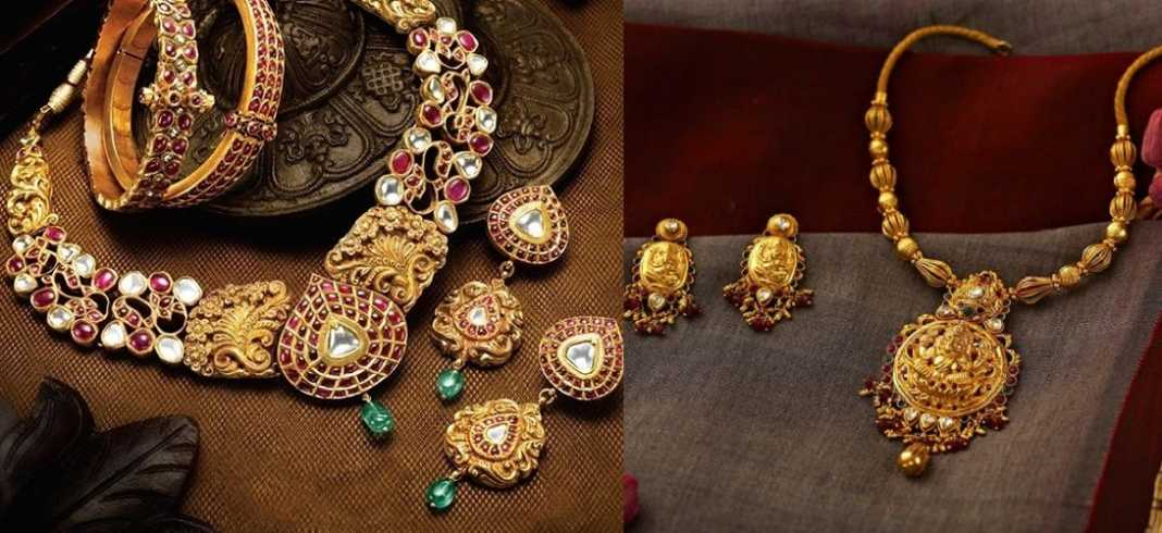 Antique Gold Jewellery Collections