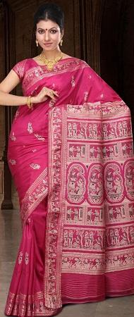 Baluchari Silk Sari