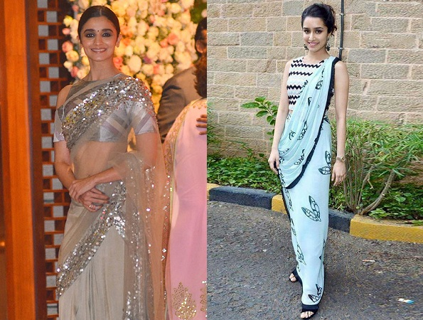Bollywood Young Stars In Saree