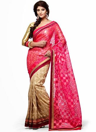 Chanderi Silk Sari