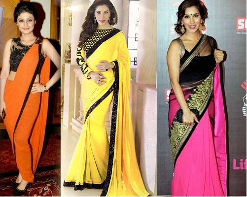 Different Colors For Saree