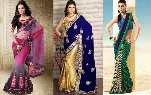 Different Sarees For Diwali