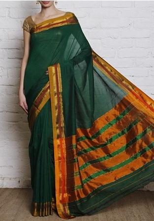 Ilkal and Patola Silk Sari