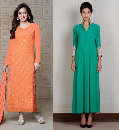 Long and Straight Kurties