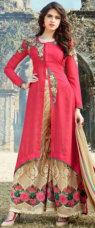 Middle Cut Salwar Kameez