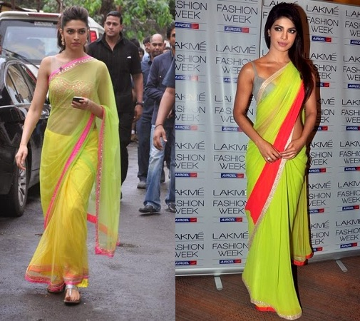 Neon Color Sarees