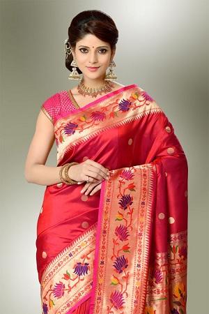 Paithani Silk Sari
