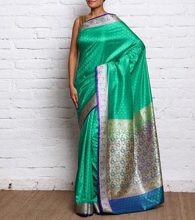 Thanchoi Silk Saris
