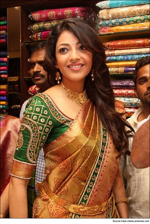 Traditional Saree with Designer Blouse