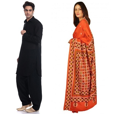 Traditional Sindhi Wear