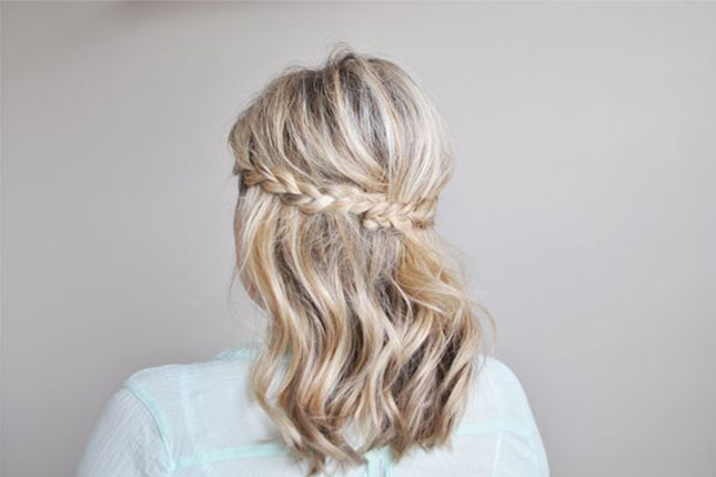 Twist up Simple Braid