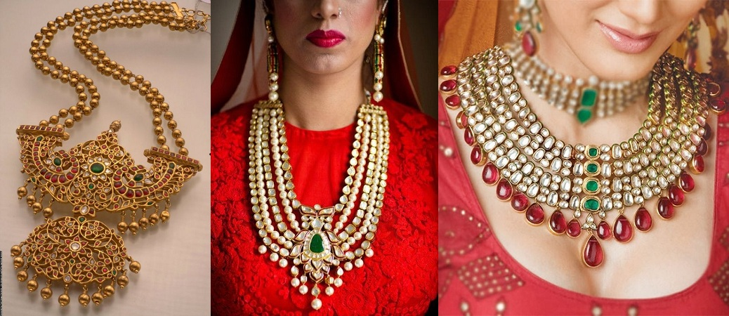 different jewellery for diwali