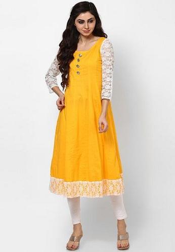 kurta-Anarkali dress