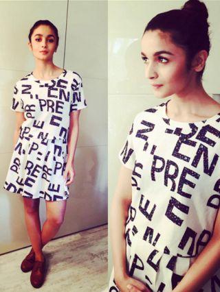 Alia Bhatt Casual Look