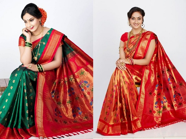 Designer Paithani Sarees