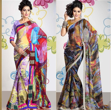 Colorful Sarees Collection