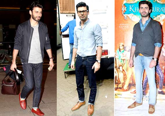 Fawad Khan Casual Look