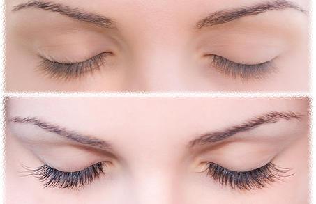 Get longer lashes