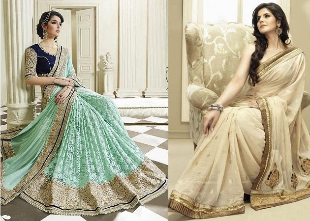Gorgeous Shimmer Net Saree