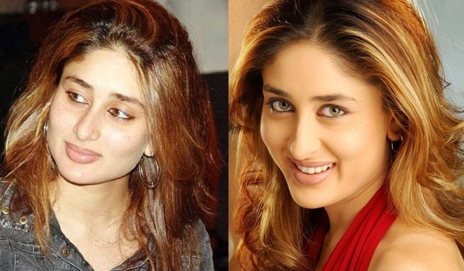 Kareena Kapoor Blonde Hair Highlights