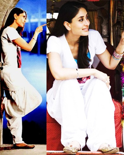 Kareena-Kapoor-Long -Tshirts-With-Patiala-Pants